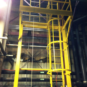 Fabricate and install ladder system