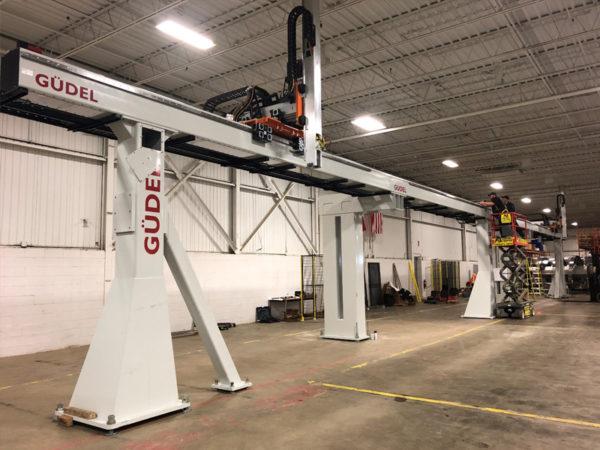 Robot Gantry System installation