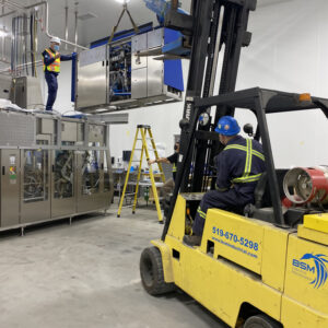 Filler machine assembly